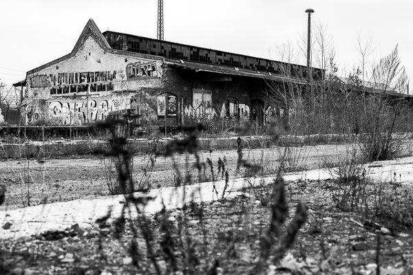 Verlassene Bahnanlage - Leipzig Plagwitz