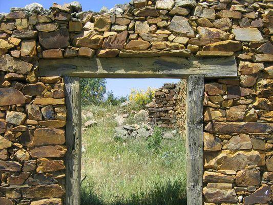 verlassene Dörfer in Nordspanien