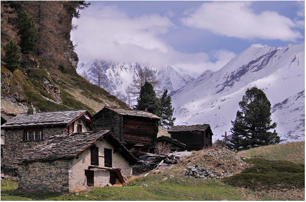 Verlassene Dorf