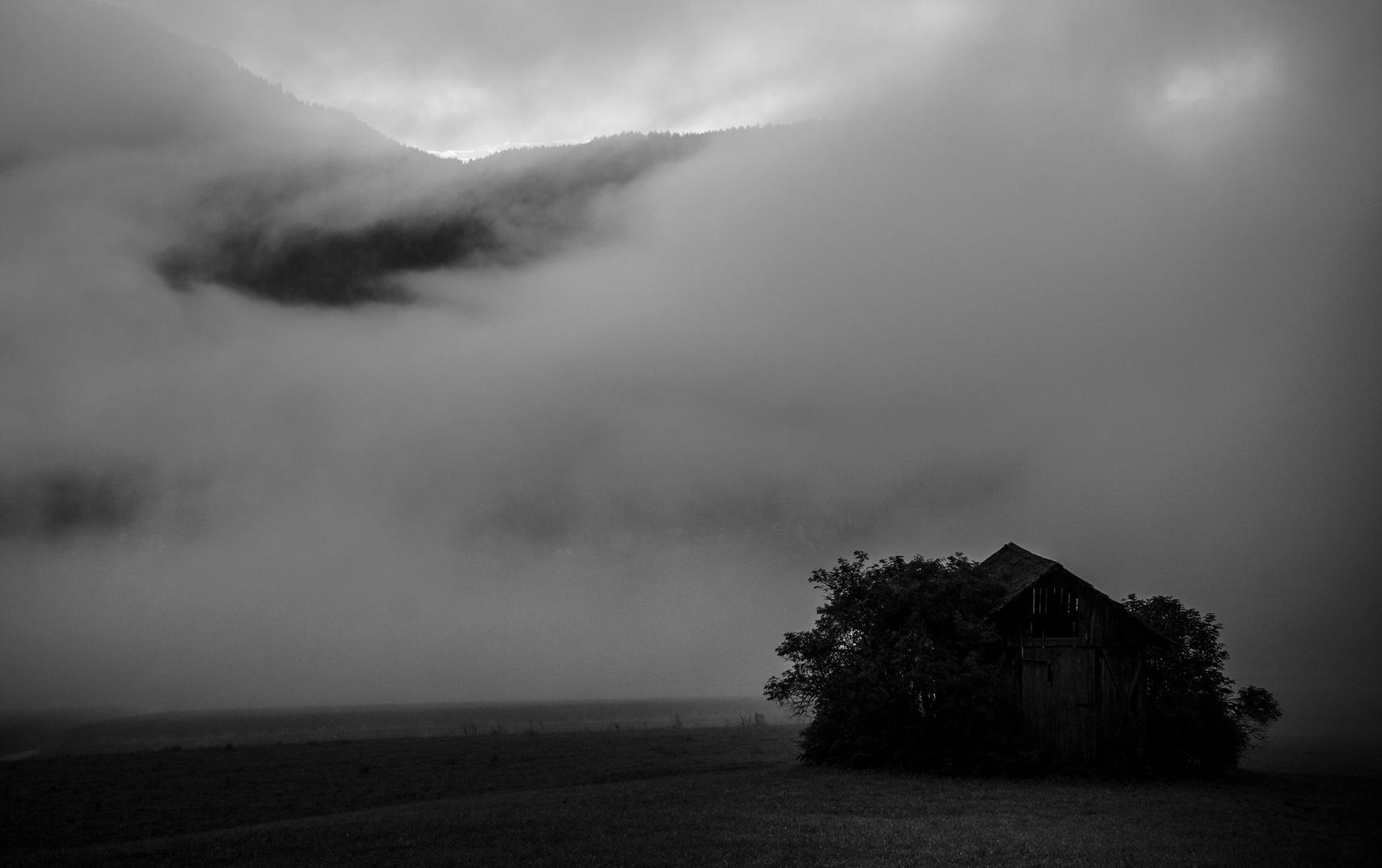 Verlassene Hütte...