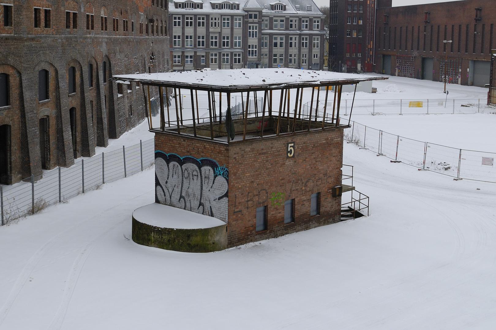 verlassene Industriebauten
