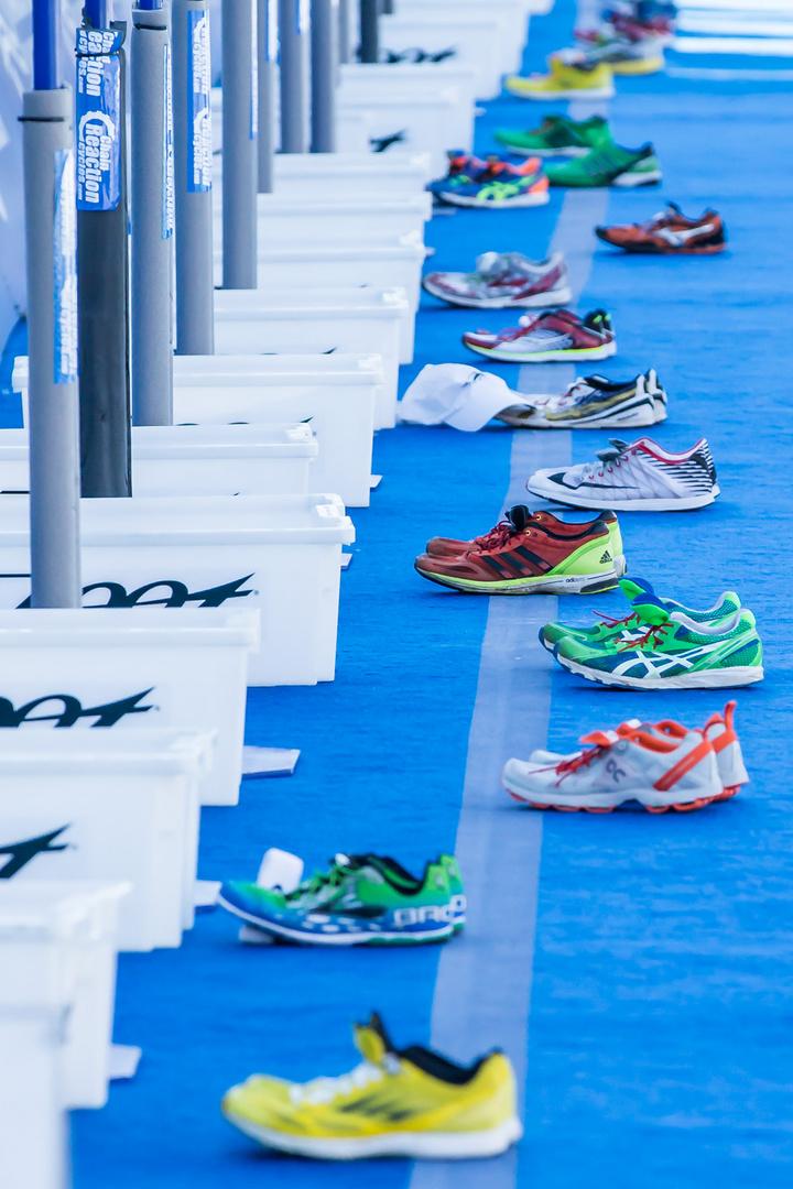 Verlassene Schuhe