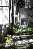 verlassene Textilfabrik