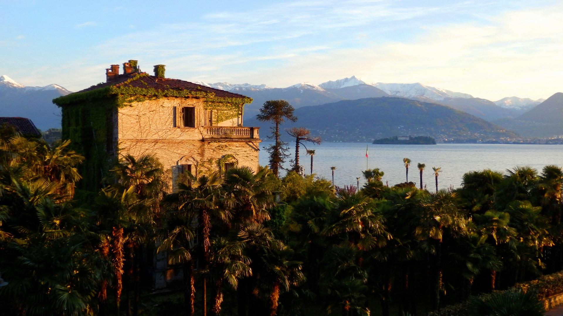 Verlassene Villa am Lago Maggiore