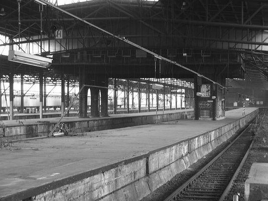 Verlassener alter Güterbahnhof Wanne Eickel...