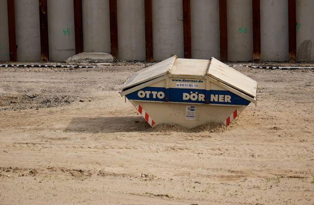 verlassener Container