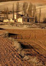 Verlassener Hof in Andalusien