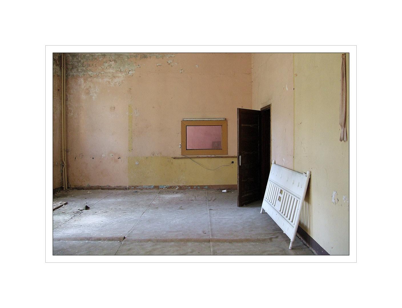 verlassener Raum........................