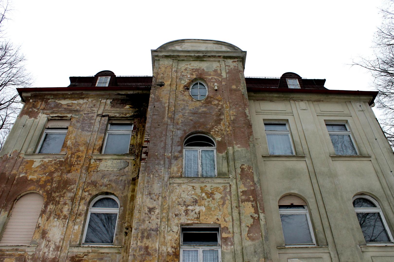 """Verlassenes Betriebsratshaus der """"ERBA"""""""