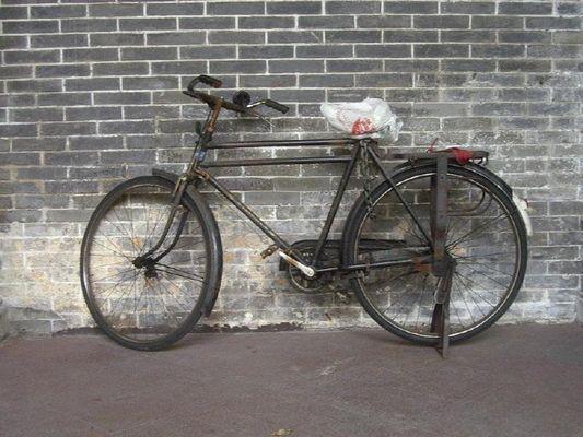 Verlassenes Fahrrad