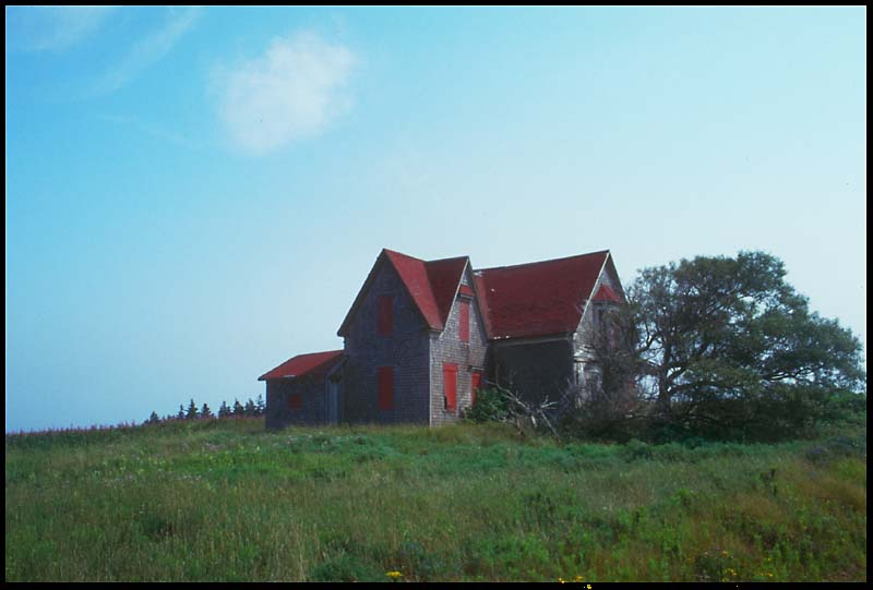 verlassenes Haus auf Prince Edward Island / Kanada