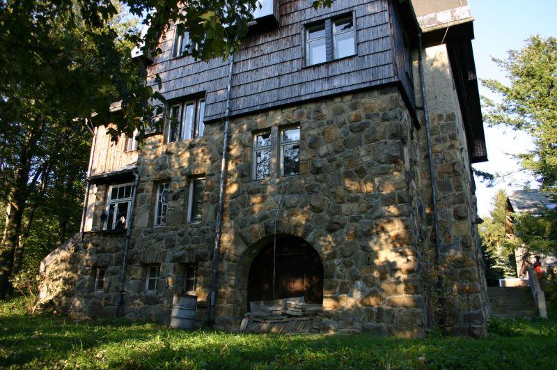 Verlassenes Haus im Erzgebirge