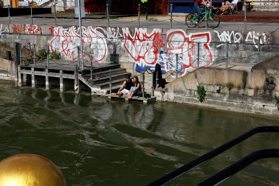 Verliebt in den Donaukanal ?