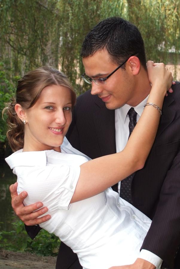 verliebt, verlobt und am 1.8.09 wird geheiratet