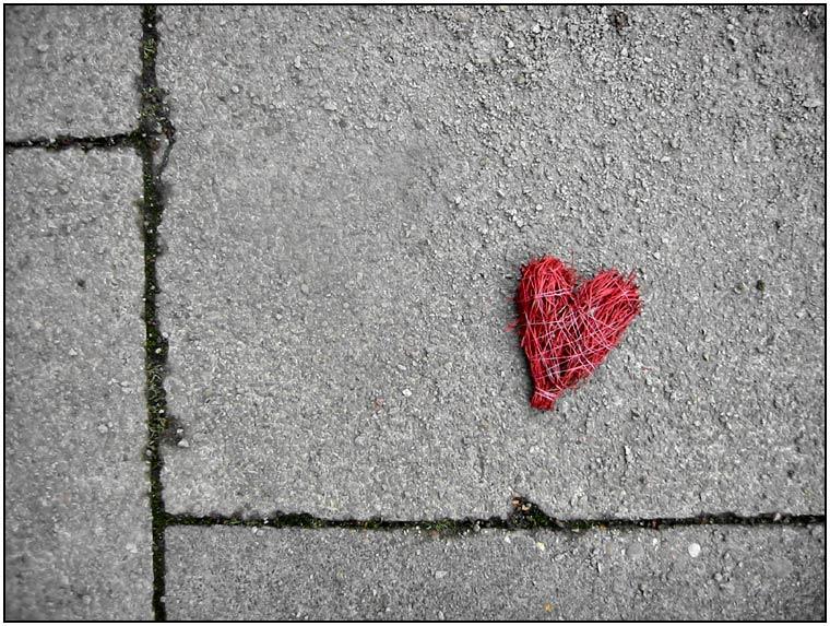 ... verlorenes Herz ...