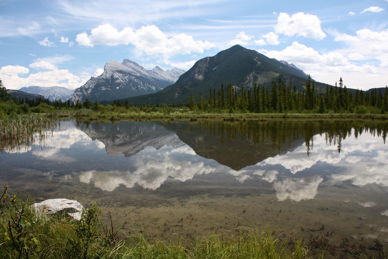 Vermillion Lakes bei Banff