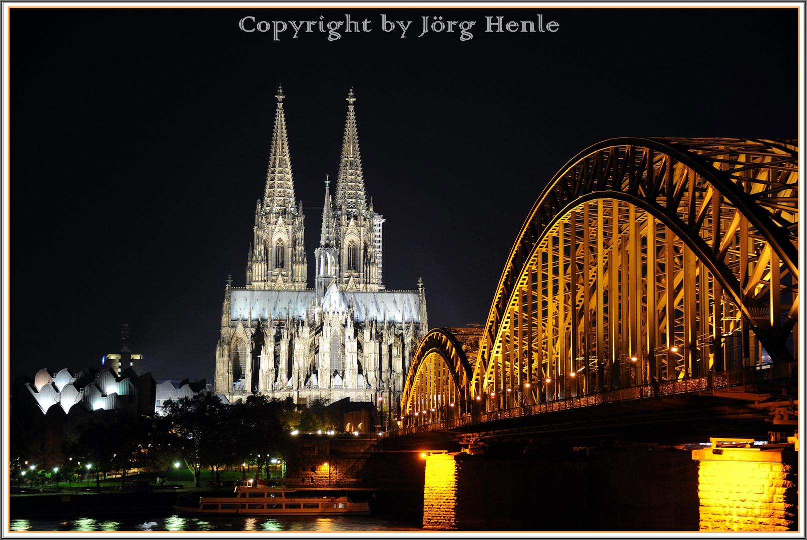 Vermutlich das 500-millionste Foto vom Dom inkl. Hohenzollernbrücke - musste einfach sein...