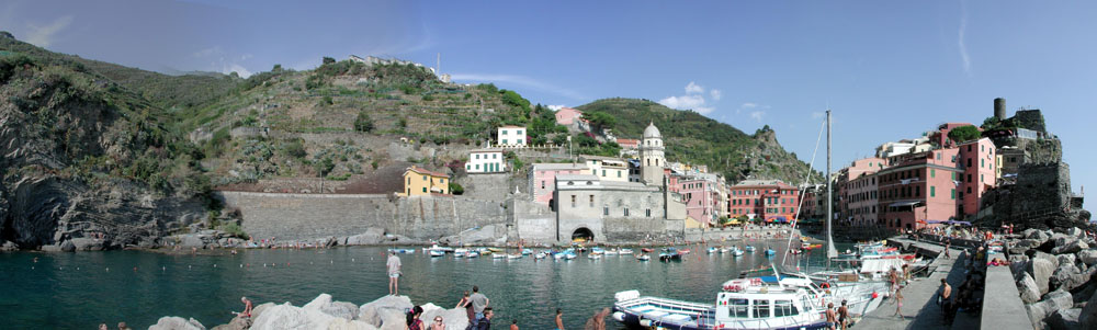 Vernazza - Ligurien 2003