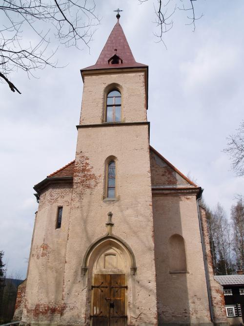 Vernerovice-the village chapel