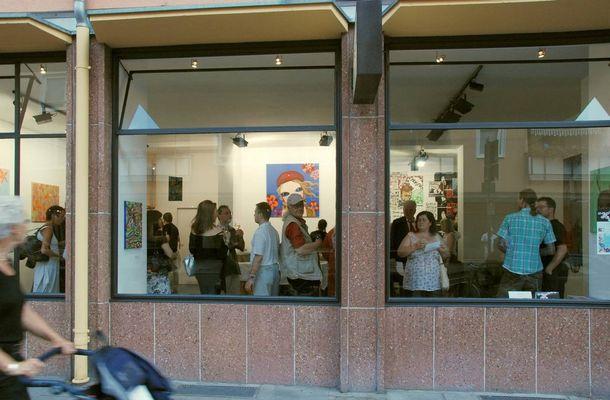 Vernissage bei Galerie 'Planet Vivid'