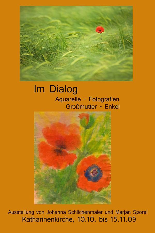 Vernissage der Ausstellung »Im Dialog« in Reutlingen