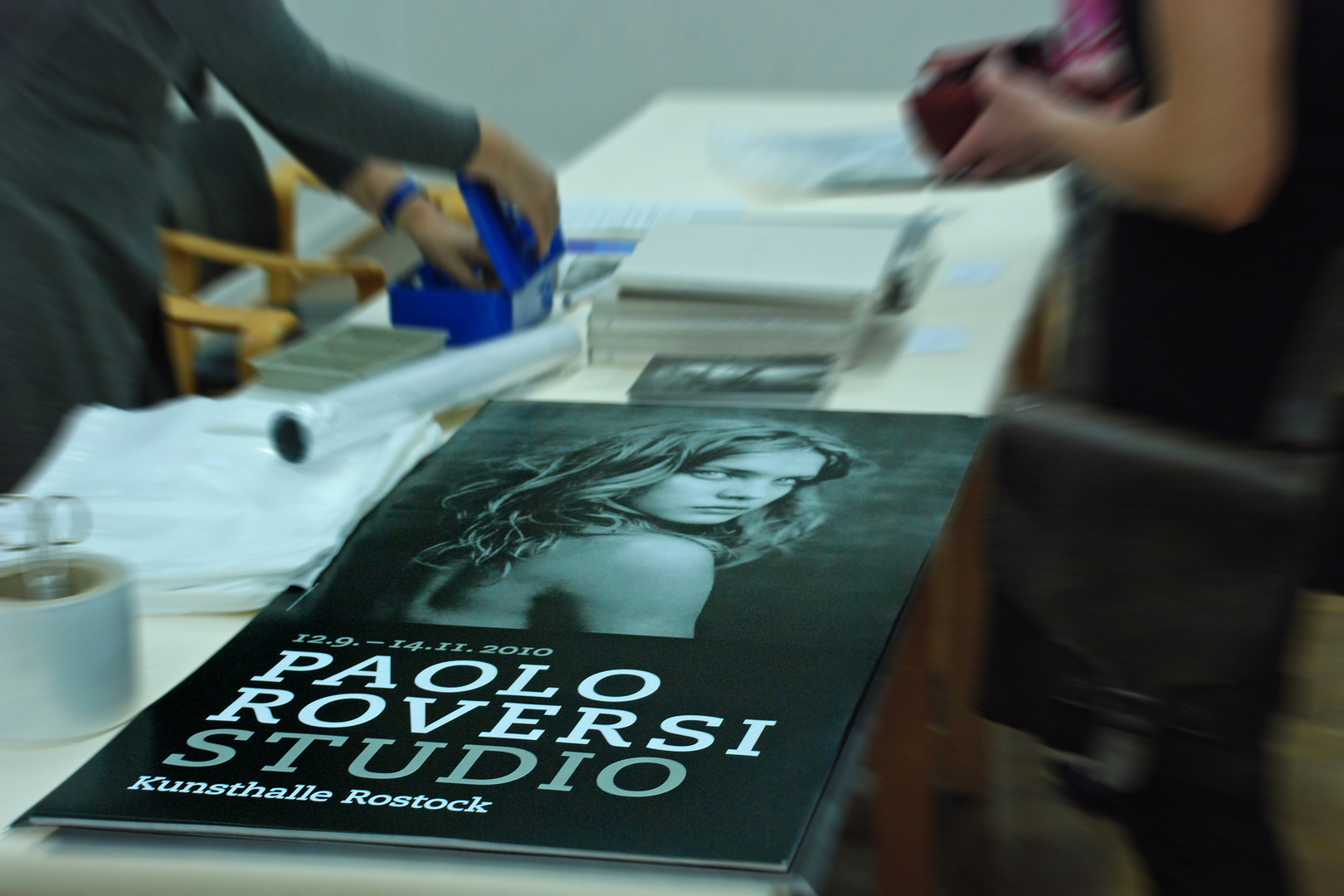 Vernissage mit Paolo Roversi