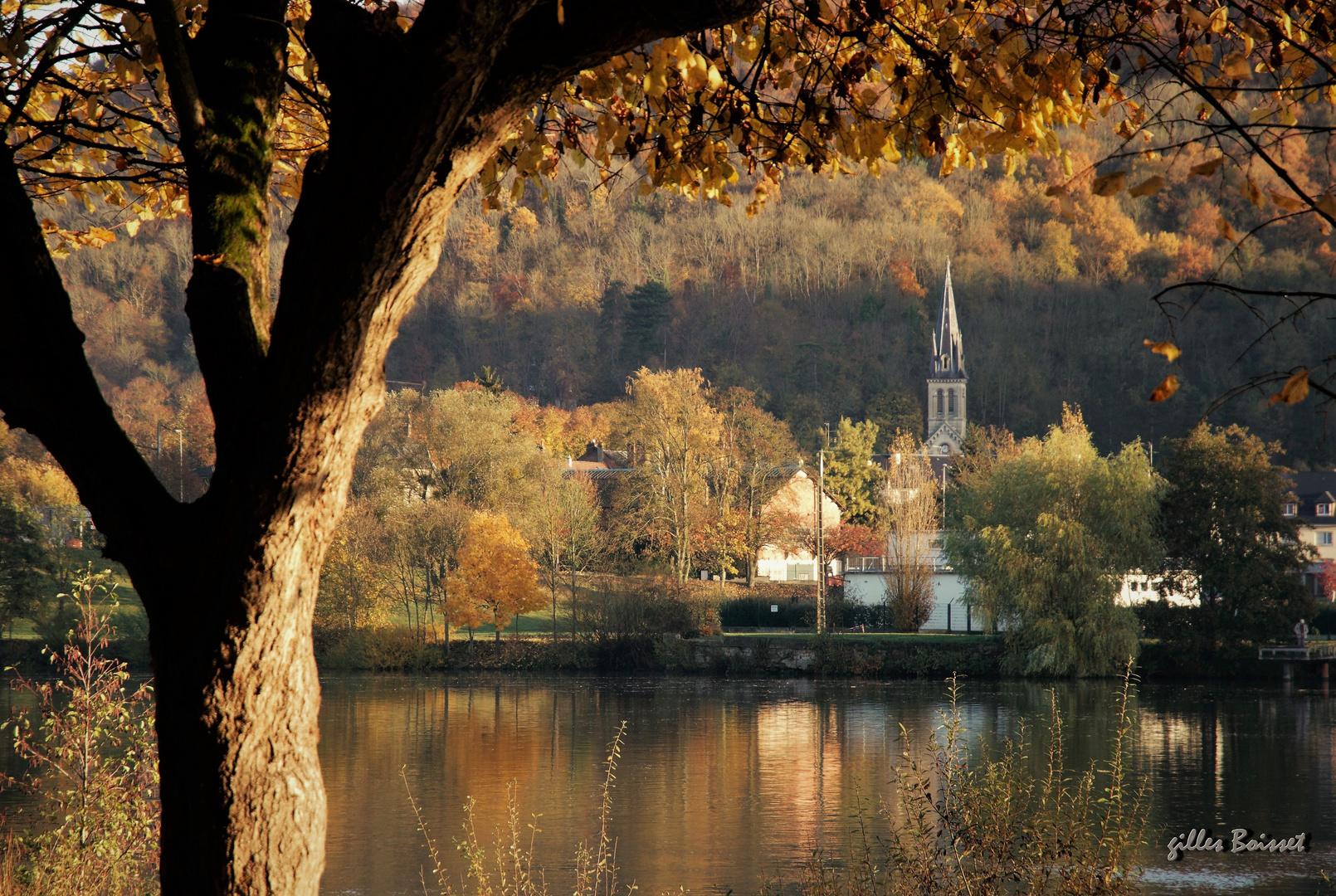 Vernon, matin d'automne
