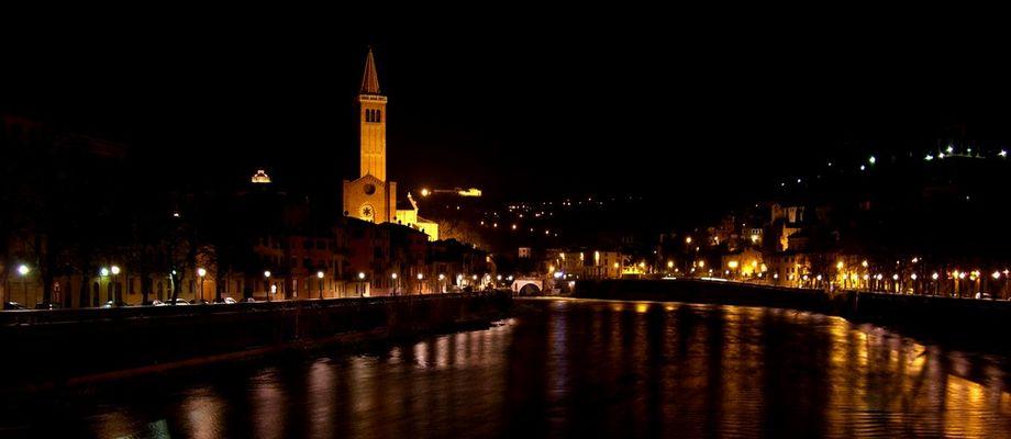 Verona by night