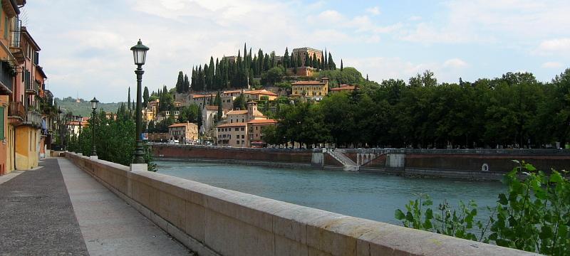 Verona mit Etsch (Adige)