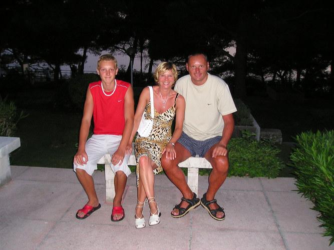 Veronika, Igi und Igor.