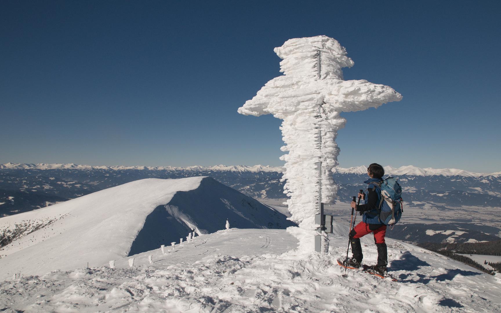 Verpacktes Gipfelkreuz II