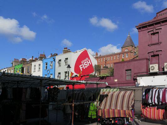 Verrückte Camden Town - Der Market an der High Street