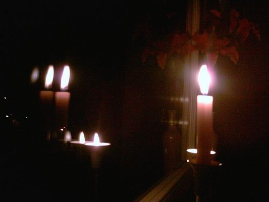 Verrückte Kerze  :))
