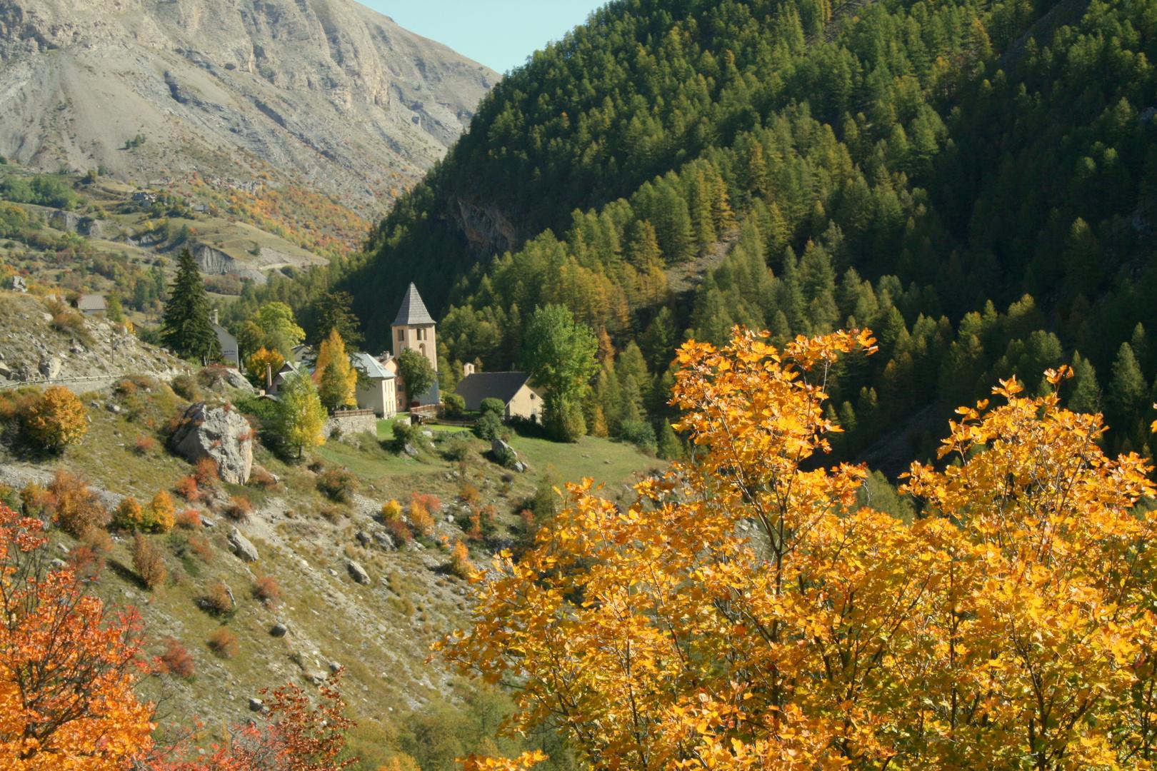 Vers le Col de la Cayolle-In Richtung den Pass Cayolle France