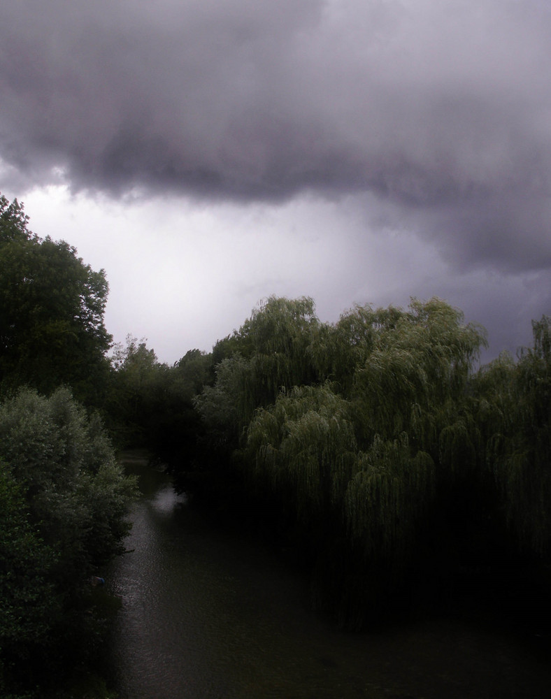 Vers l'orage.