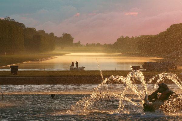 Versailles les grandes eaux noctunes