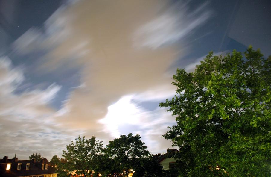 Verschiebung der Wolke