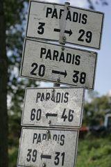Verschiedene Wege zum Paradies