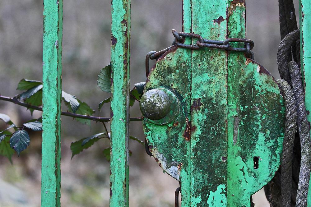 Verschlossen und vergessen