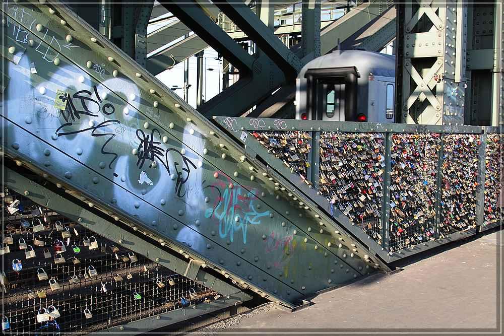 Verschlossene Brücke