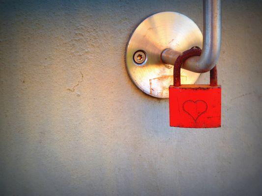 verschlossenes Herz
