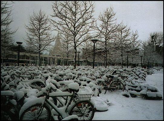 Verschneit...