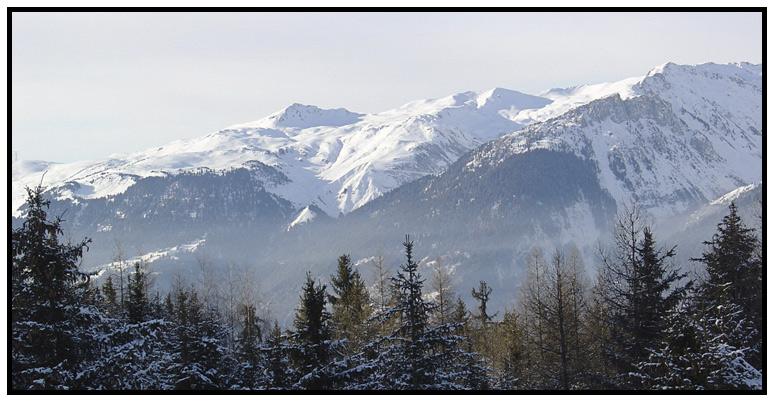 Verschneite Winteridylle