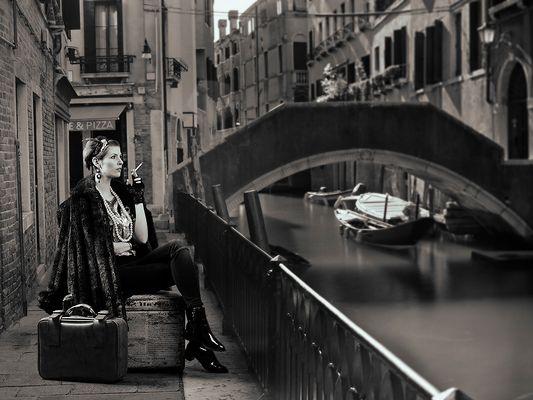 Versetzt in (nach) Venedig