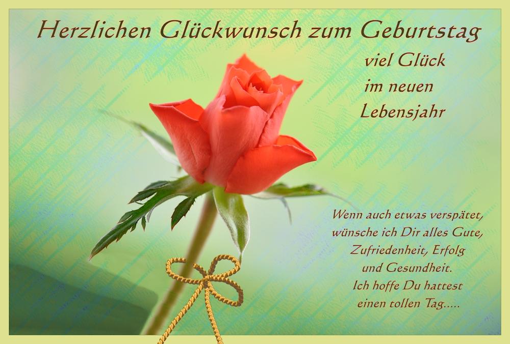 Bild GlГјckwunsch