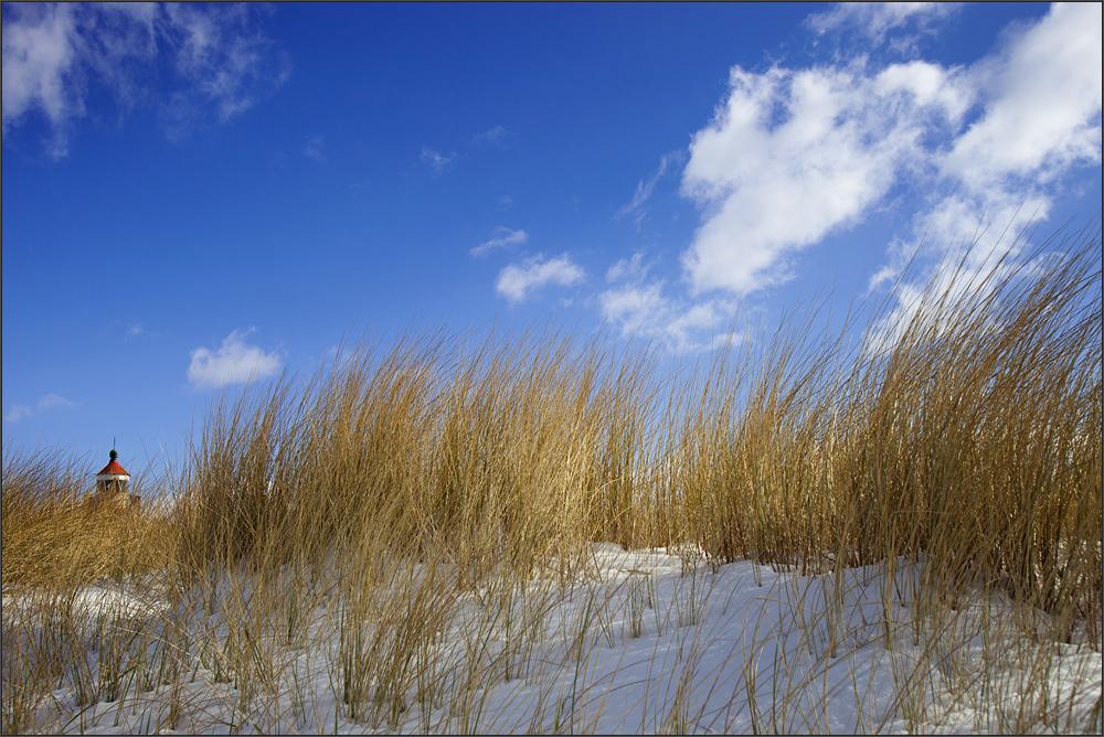 versteckt hinter den Dünen