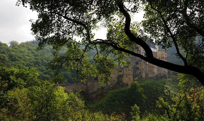 Versteckte Burg....