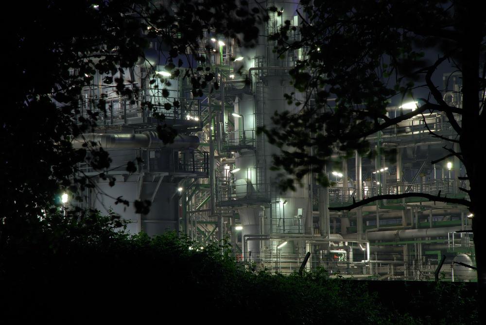 Versteckte Industrie BP Horst