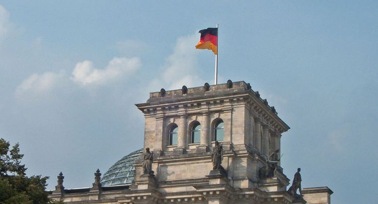 versteckter Reichstag