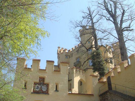 verstecktes Schloss